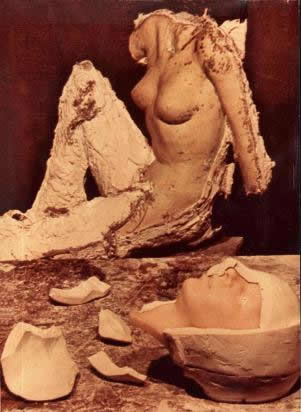 Mold and Wax Sculpture